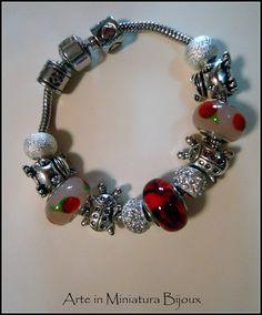 Charmories Bracelets Pandora's Style. €22.00, via Etsy.