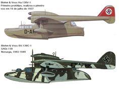 . . . . O Blohm & Voss Bv 138 Seedrache (Dragão do mar), também conhecido por Der Fliegende Holzschuh (tamanco voador), devi...