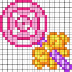 Lollipop Kandi Pattern
