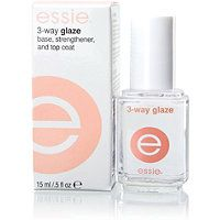 Incredible base/top coat that prevents chips, cracks and breaks in manicured nails. Your nails with look perfectly polished for up to 2 weeks. Love this Essie product!