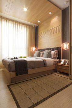 Schlafzimmer Ideen Gestaltung Braun Holz Moderne Einrichtung