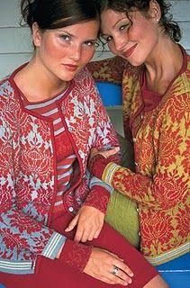 Oleana - Solveig Hisdal - Norwegian Sweaters Cardigan Knit - www.no Mais Only Cardigan, Fair Isles, Fair Isle Knitting, Sock Knitting, Vintage Knitting, Free Knitting, Fair Isle Pattern, Folk Fashion, Crochet Fashion