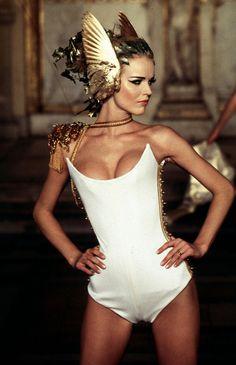 Givenchy Haute Couture Spring 1997 / Grecian, Egyptian, Art Nouveau headdress