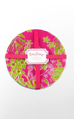 Lilly plates for the bridal shower #LillyPulitzer #SouthernWeddings