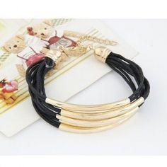 Bracelet orné métal Noir pas cher