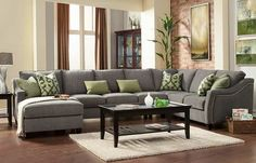 orange county warehouse Custom Sectional Sofa - Choose Your Fabric & Design!  THAT is the sofa I want!