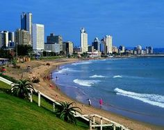 Durban is the largest playground in Africa, namely Marine World in Durban. About the playground, you will find aquariums, that is one of the five largest aquariums within the world. Durban beach is among the main beaches in Durban. South Africa Tours, Durban South Africa, South Afrika, Cool Places To Visit, Places To Go, Beautiful Landscape Pictures, Beautiful Pictures, Kwazulu Natal, To Infinity And Beyond