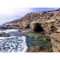"""Discovered by Bernini, """"The best time to visit is late fall or winter when low tides are during the day, making it possible to hike along the cliffs. The tidepools are located within the Cabrillo National Monument area so there's a $5 parking fee or you can park outside and hike down."""" at Cabrillo Tide Pools, San Diego, California"""