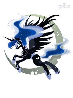 Princess Luna Nightmare Moon My Little Pony print