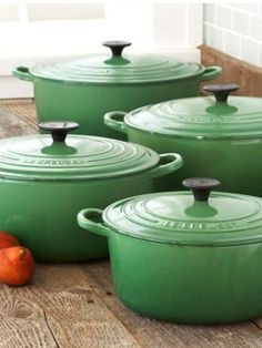 Le Creuset French Ovens    http://ideas.thenest.com/decor-tricks/decor-style/slideshows/big-ticket-items-that-are-worth-it-and-some-not.aspx?page=10
