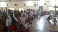 Celebra parroquia Cristo Rey con matachines misa de resurrección de Cristo | El Puntero