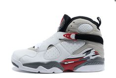 "833130fbca8180 Air Jordan 8 Retro ""Bugs Bunny"" White Black-True Red For Sale Online"