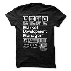 Cool Tshirt (Tshirt Best Tshirt) Hot Seller - MARKET DEVELOPMENT MANAGER -  Coupon Best