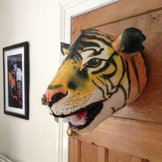 Inflatable Tiger Head – $15