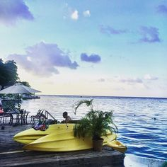 Port Antonio is famous as a shipping point for Bananas and Coconuts. Tonight, however, it's famous for a stunning view. Wish you were here? #visitjamaica #homeofallright