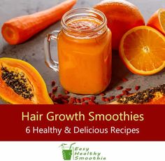 Healthy Hair 182184747411179131 - Discover the foods proven to promote healthy hair growth and your smoothies are the perfect way to add a heap of them to your diet! Check out these healthy and delicious smoothies to help your hair look great! Source by Healthy Juices, Healthy Drinks, Healthy Snacks, Hair Growth Smoothie Recipes, Pelo Afro, Yummy Smoothies, Homemade Smoothies, Nutritious Smoothies, Breakfast Smoothies
