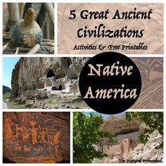 Ancient Native America & Ancient Maya Civilization Art & Architecture {Freebies} - The Natural Homeschool History Lessons For Kids, Tapestry Of Grace, Maya Civilization, Free Printable Art, Classical Education, Art Activities For Kids, Ancient Civilizations, Art And Architecture, Montessori Homeschool