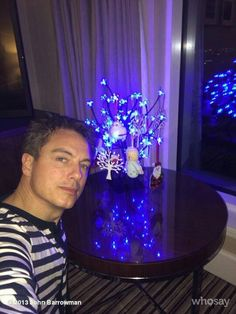 Just put up my wee tree in my hotel room, JB
