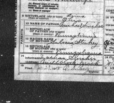 Mecosta :: Death Records, 1897-1920