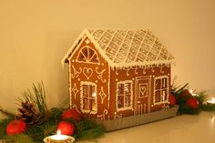 My Gingerbread house for 2013