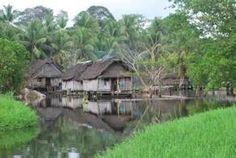 tribal village with a water system - Google Search