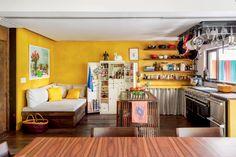 Casa na zona sul carioca reúne cores, texturas, plantas | CASA CLAUDIA