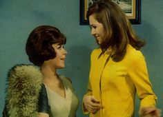 Linda Thorson avengers | Linda Thorson as Tara King/ Agent 69 and Diana Rigg as Emma Peel