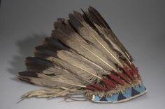 War bonnet, Sioux, Lakota,Oglala, 1895. Anthropology Collections, AMNH