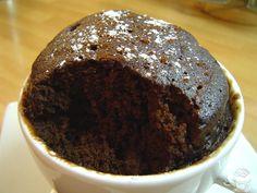 Brownie en taza en 5 minutos
