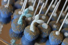 Beach Themed Cake Pops, Cake and Cookies by HCP Easy Roller