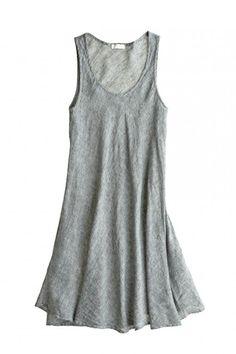 Bree Linen A-line Dress