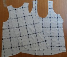 all dressed up and nowhere to go: SPLIT BACK TINY POCKET TANK : THE TUTORIAL Which could be lengthened to pinny. Cute!