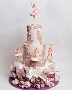 Hi there is a birthday haqqening at TMC Ballet Cakes, Dance Cakes, Ballerina Cakes, Ballerina Birthday, Birthday Cake Girls, Fondant Cakes, Cupcake Cakes, Dream Cake, Novelty Cakes