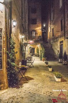 Side street of Via dei Coronari