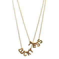 Kettinkje goud met letters v.a. € 13,50. Zelf samen te stellen bij Beadies. Ook in zilver! Naam ketting gepersonaliseerde sieraden