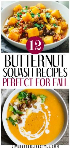 12 Delicious Butternut Squash Recipes Perfect for Fall is part of Fun Fall recipes - Fall is around the corner and you are looking for a great butternut squash recipes you want to try for the whole season You are in the perfect place! Fall Recipes, Great Recipes, Dinner Recipes, Favorite Recipes, Dinner Ideas, Interesting Recipes, Thanksgiving Recipes, Recipe Ideas, Heart Healthy Recipes