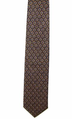 Joseph Abboud Mens 100% Silk Made in Italy Clover Dress Neck Necktie Tie 56in #JosephAbboud #Tie