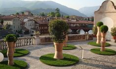 Wedding in the Garden Sturm Palace Bassano del Grappa italy