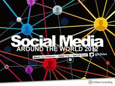 social-media-around-the-world-2012-by-insites-consulting by InSites Consulting via Slideshare