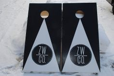 ZW Winery in Solvang California Cornhole set