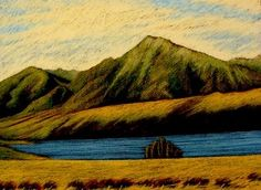 New Zealand gallery Painting & Drawing, New Zealand, Landscapes, Southern, Paintings, Mountains, Gallery, Drawings, Artwork
