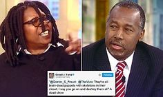 Ben Carson was attacked repeatedly by the women of The View on Thursday, who questioned how he could support Donald Trump for president given his many racial and sexist statements. *** I will never watch The View again, nor any of the women that participated in this attack.***