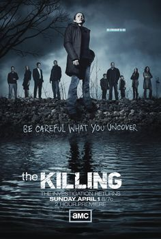 AMC's The Killing. BEST SHOW HANDS DOWN. Glad that Netflix gave this show a proper ending.