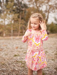 Allie Dress Pattern | Sewing Pattern | YouCanMakeThis.com