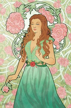 Game of Thrones - Rose Nouveau by Missy Pena