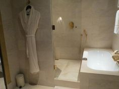 Park Hyatt, Paris Bathtub, Paris, Shower, Bathroom, Design, Style, Standing Bath, Rain Shower Heads, Washroom