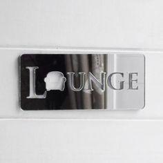 Lounge / Living Room Chair Acrylic Mirrored Door Sign - Sofa Living - ideas of Sofa Living - Lounge / Living Room Chair Acrylic Mirrored Door Sign Price : Sofa Living, Living Room Chairs, Acrylic Mirror, Mirror Door, Door Signs, Flip Clock, Lounge, Home Decor, Ideas