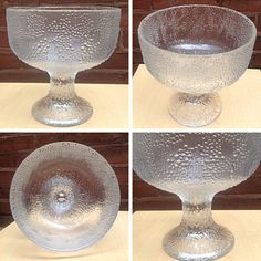 Lg Mid Century Iittala Finland Puro Compote Bowl - Info & Pricing @ Link Below | Rocket Century  - St. Louis, MO