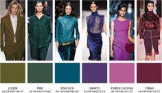 Цветовые тенденции сезона осень-зима 2012-2013 / Мода / trendy