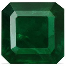 1.00 Carat Cushion Cut Loose Emerald Gemstone